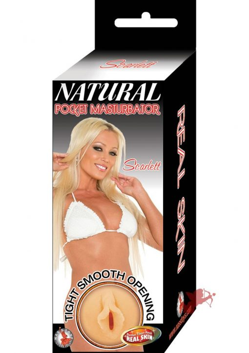Natural Pocket Masturbator Scarlet Flesh