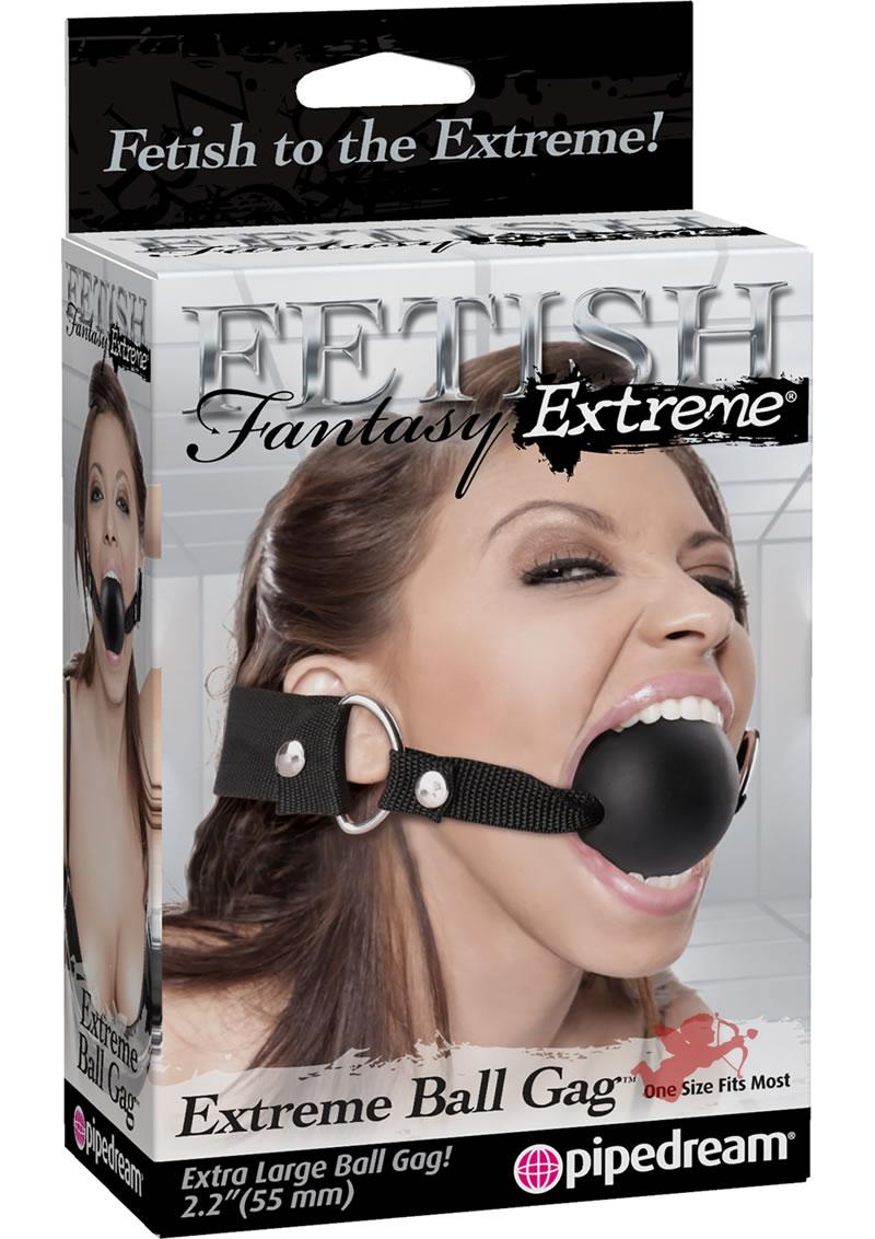 Fetish Fantasy Extreme Ball Gag Black