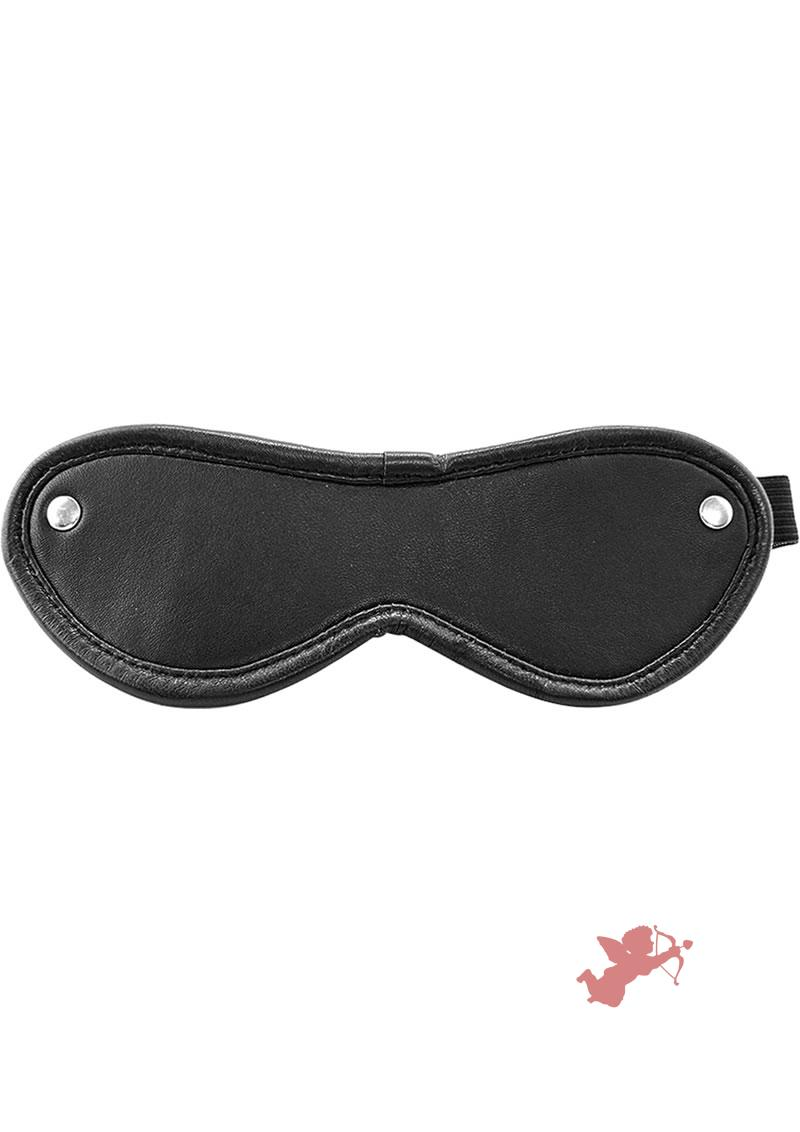 Rouge Blindfold Eye Mask Black