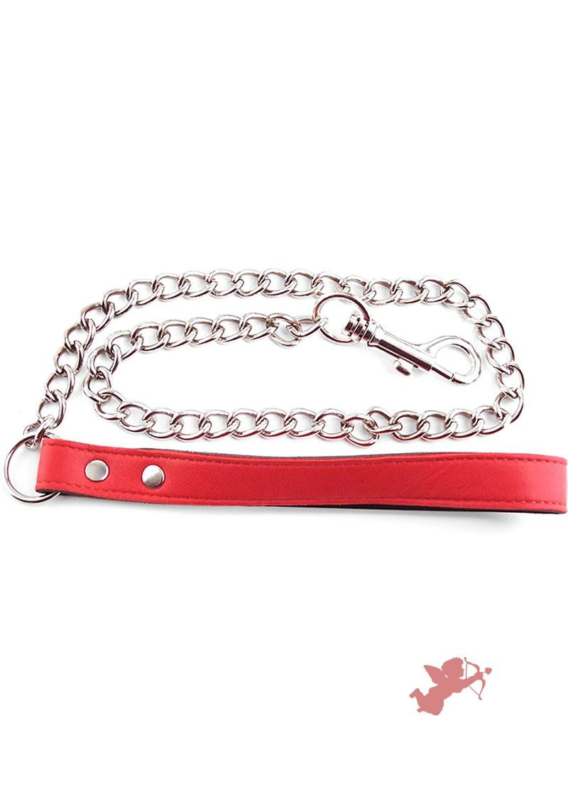 Rouge Chain Lead Red