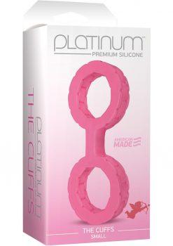 Platinum The Cuffs Small Pink