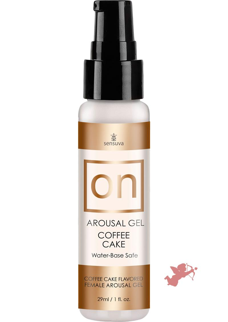 On For Her Arousal Gel Coffee Cake 1oz