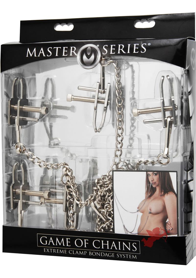 Game Of Chains Extreme Clamp Bondage