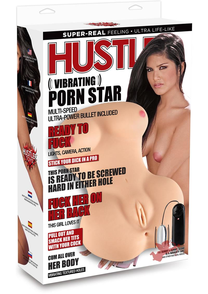 Hustler Vibrating Porn Star