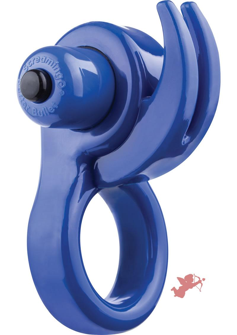 Orny Vibrating Ring Blue
