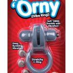 Orny Vibrating Ring Grey