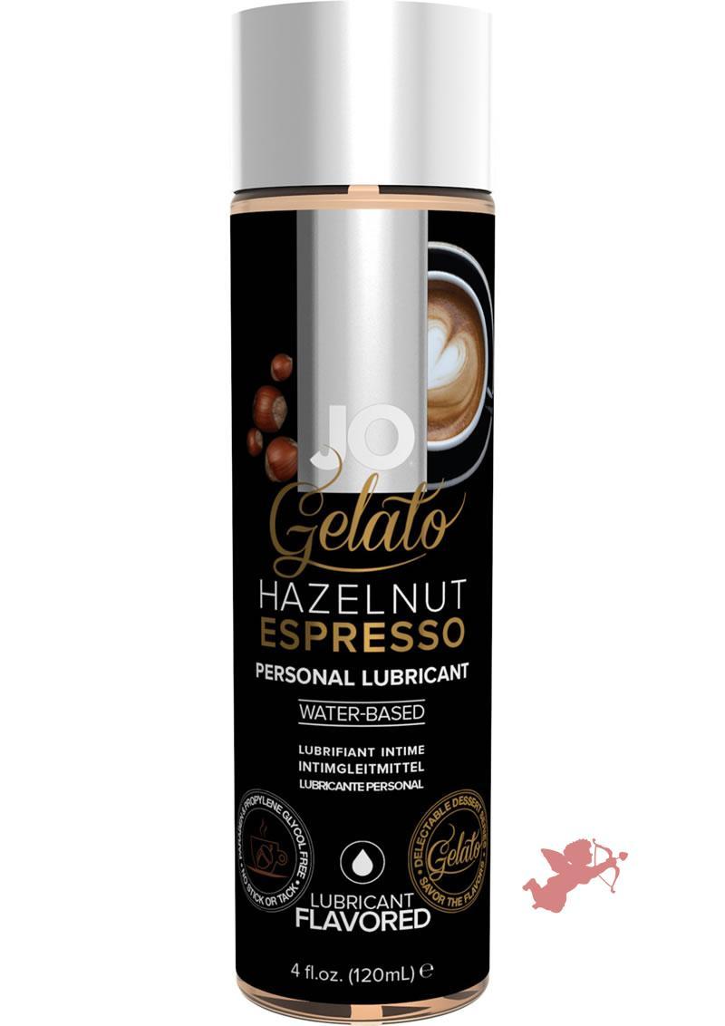 Jo Gelato Lube Hazelnut Espresso 4oz