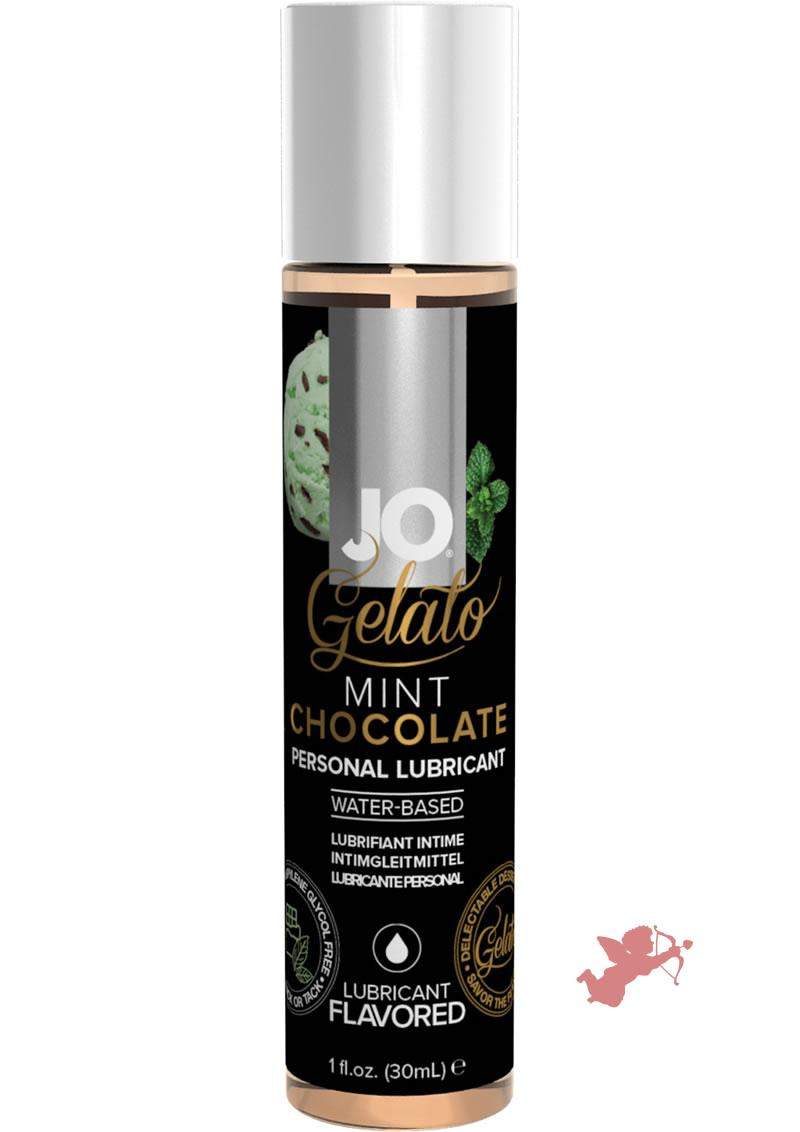 Jo Gelato Lube Mint Chocolate 1oz