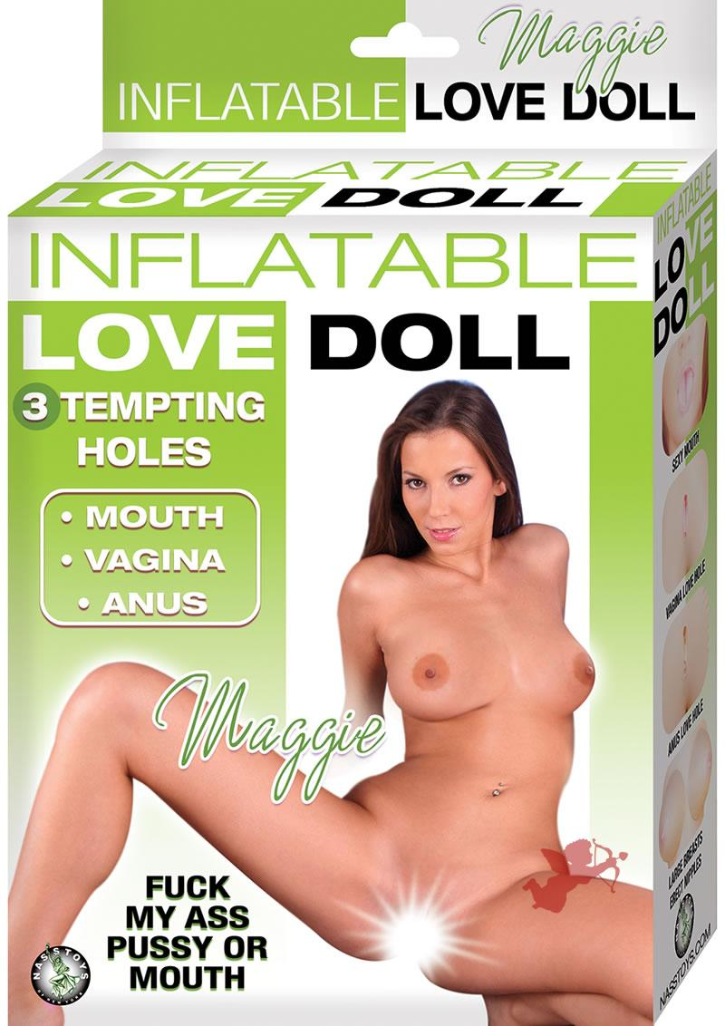 Inflatable Love Doll Maggie Flesh
