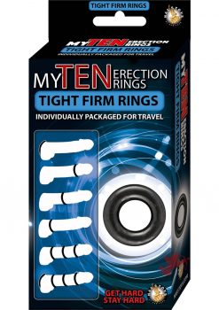 My Ten Erection Rings Tight Firm Rings