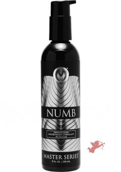 Ms Numb Desensitize Water Base Lube 8oz