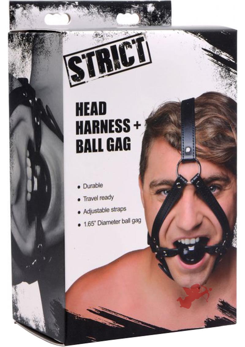 Strict Head Harness Ball Gag