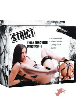 Strict Thigh Sling Wrist Cuffs
