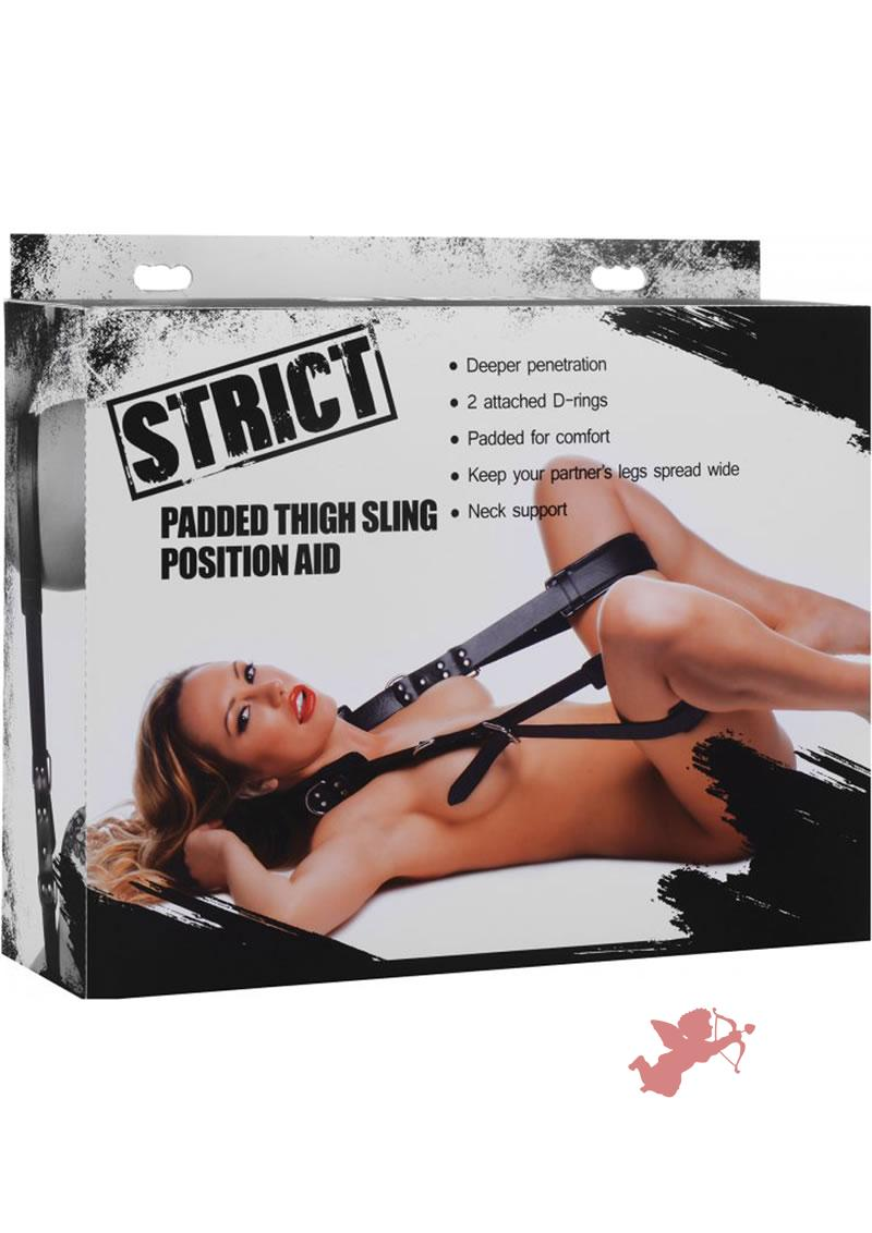 Strict Padded thigh Sling Position Aid Black