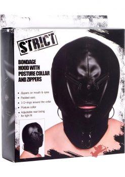 Strict Hood Mask Zipper