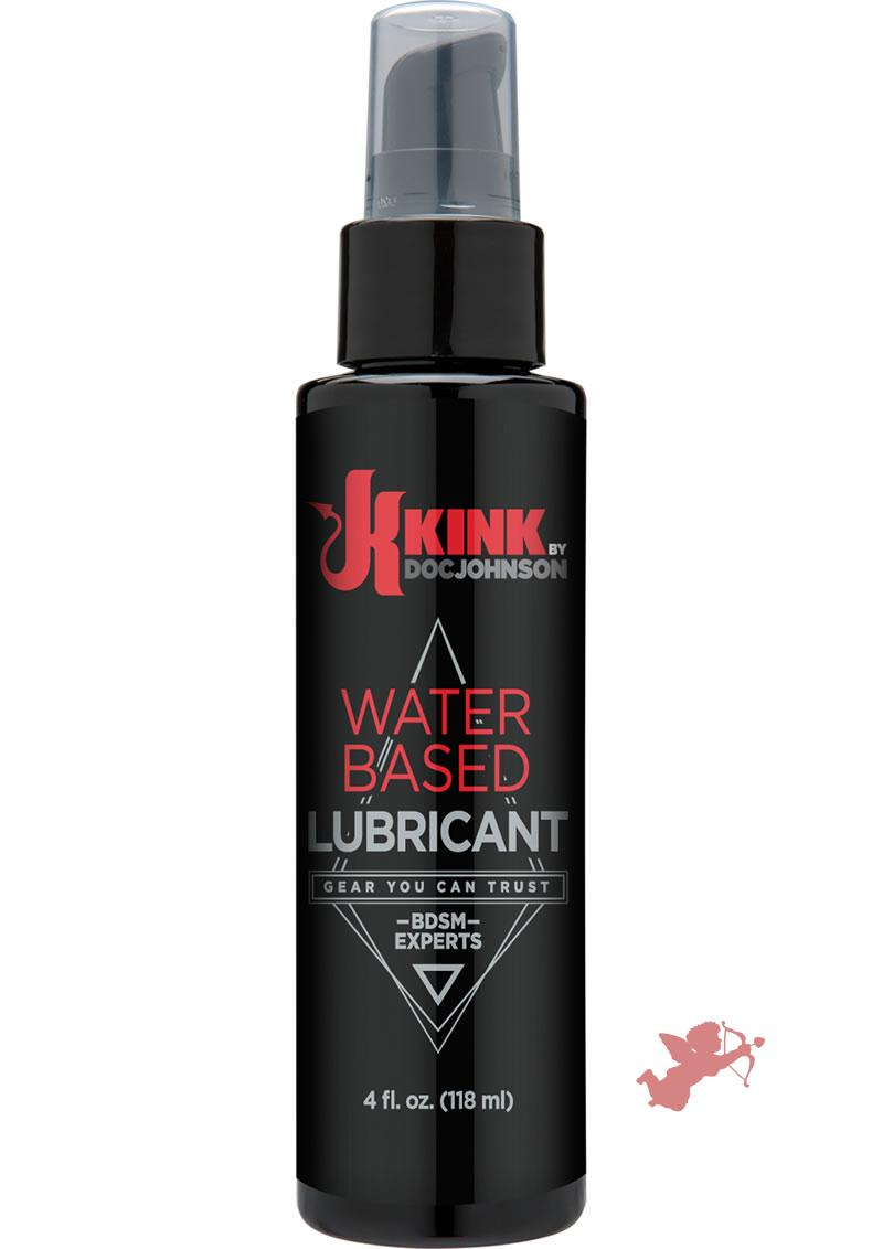 Kink Water Based Lubricant 4 Ounce