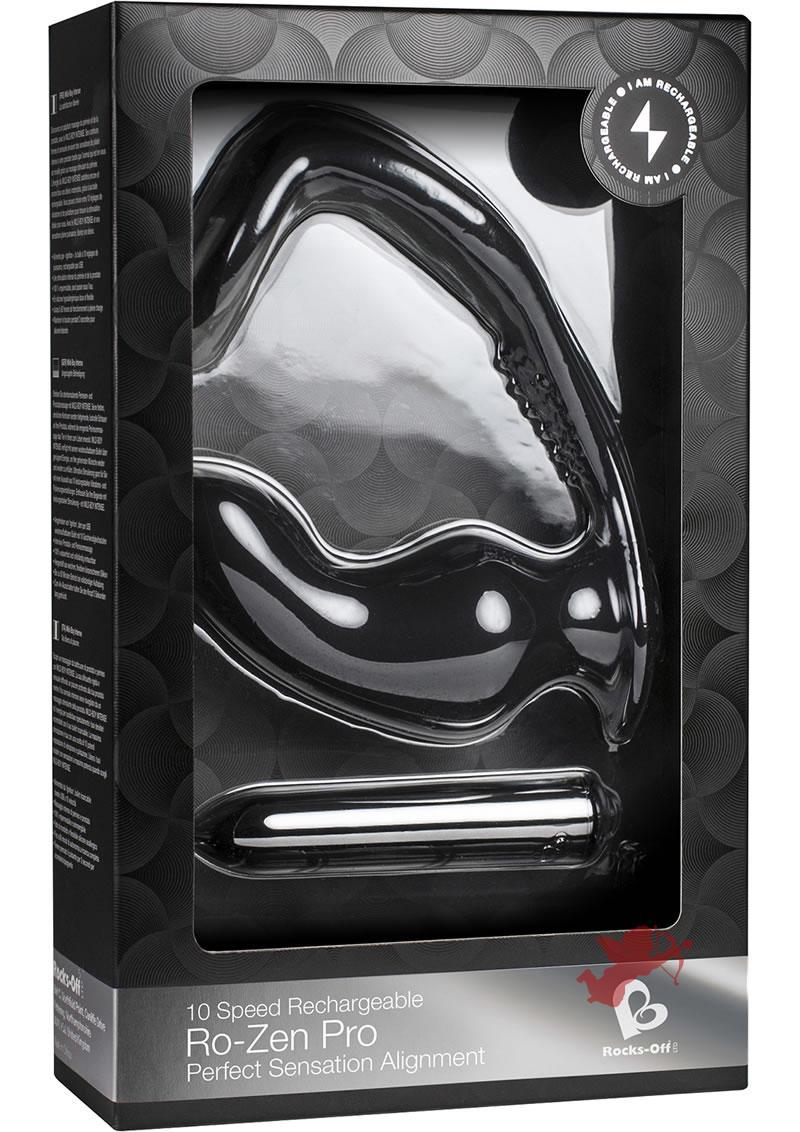 Ro-zen Pro Rechargeable 10x Black