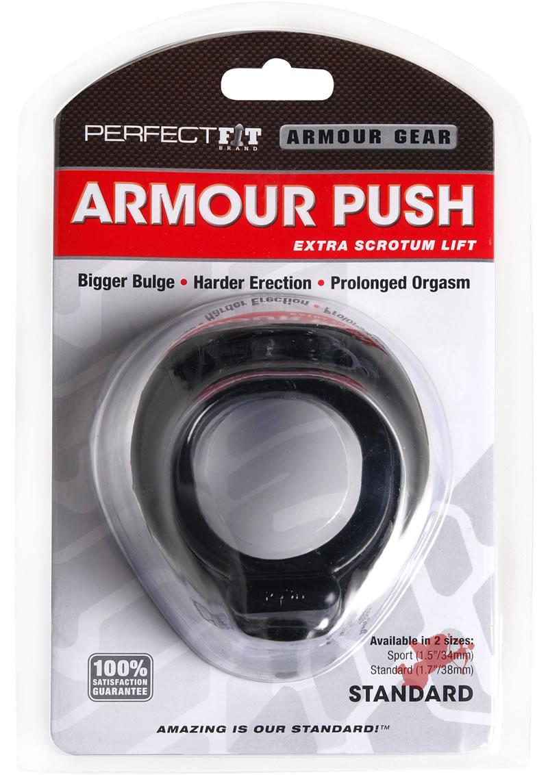Armour Push Black