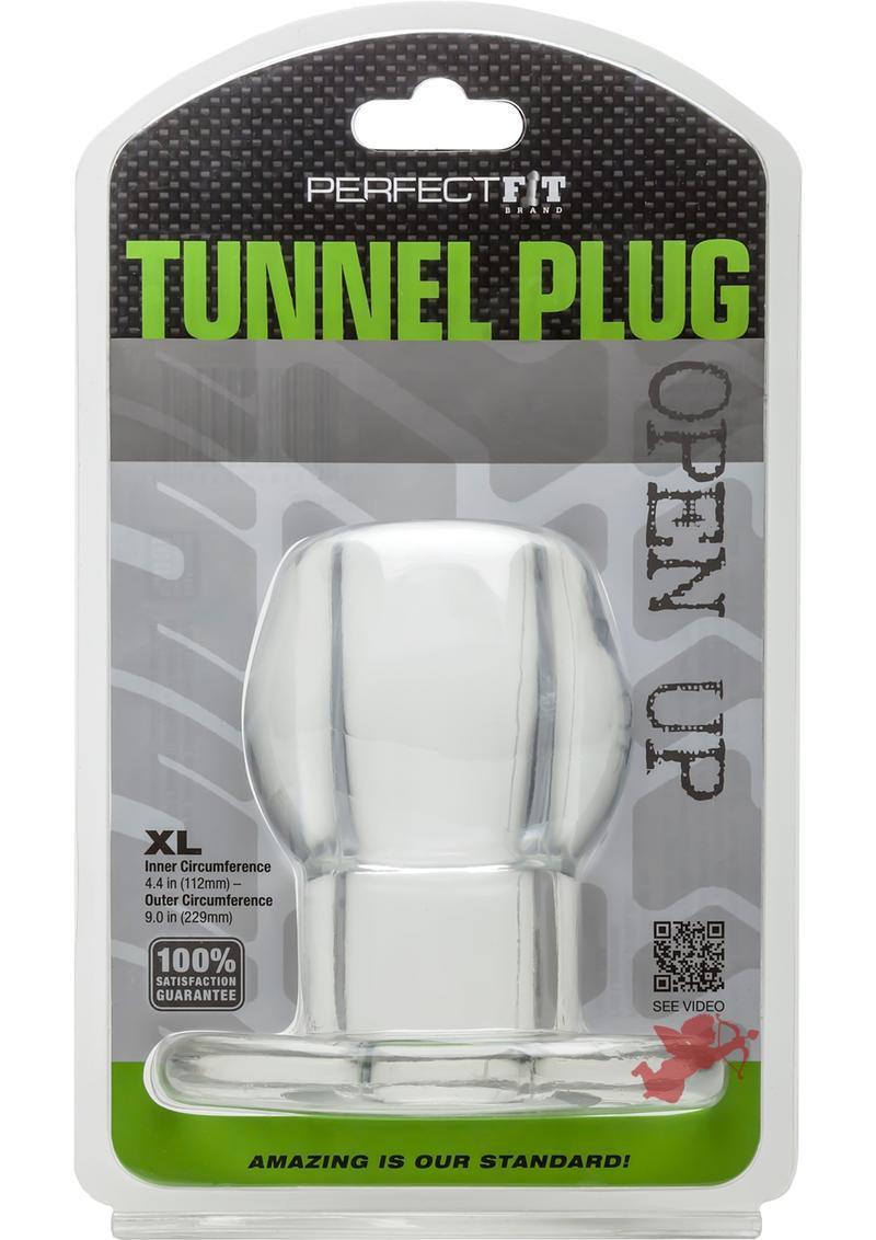 Perfect Fit Tunnel Plug Clear XL