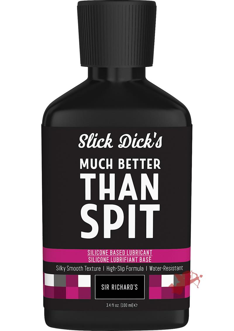 Slick Dicks Silicone Lubricant 3.4fl Oz