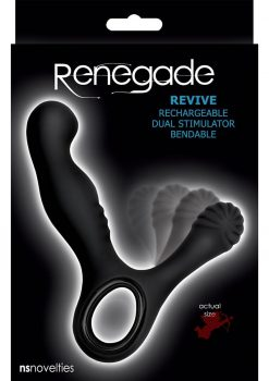 Renegade Revive Prostate Massager Black