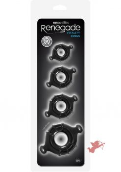 Renegade Vitality Rings Black