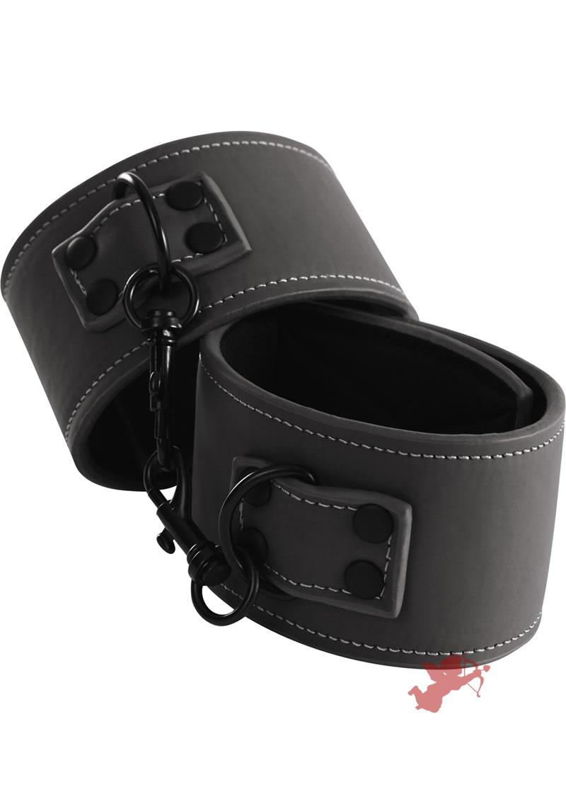 Renegade Bondage Wrist Cuff Black