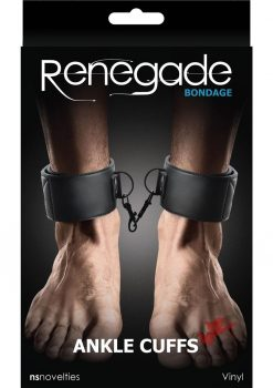 Renegade Bondage Ankle Cuff Black