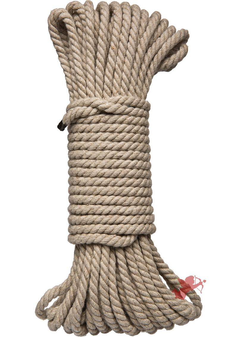Kink Hogtied Bind and Tie Hemp Bondage Rope 30 Feet