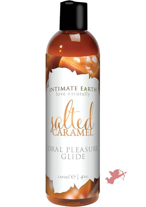 Intimate Earth  Oral Pleasure Glide Salted Caramel 4 Ounce