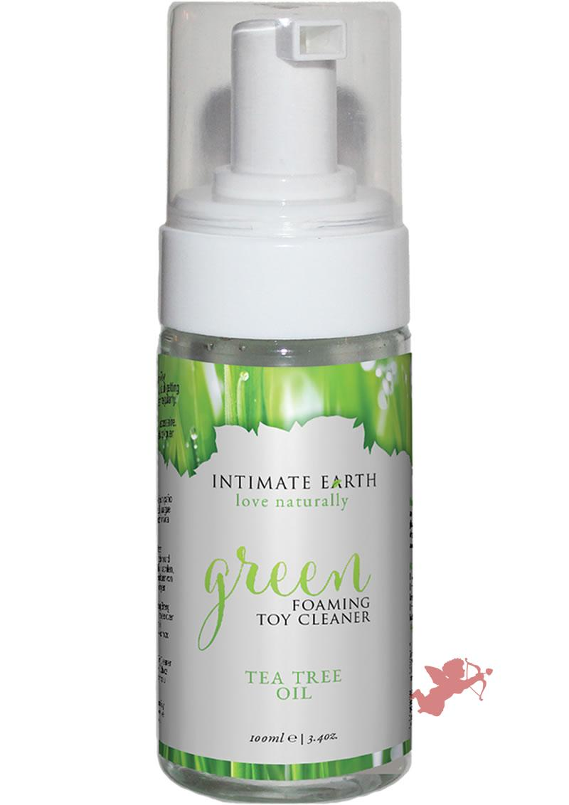 Intimate Earth Foaming Toy Cleaner Tea Tree Oil 3.4 Ounces
