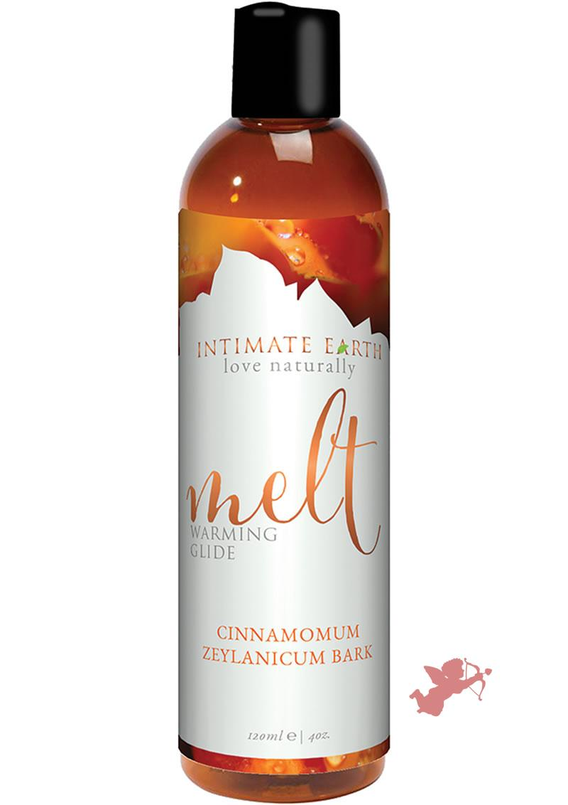 Intimate Earth Melt Warming Glide Cinnamomum Zeylanicum Bark 4 Ounce