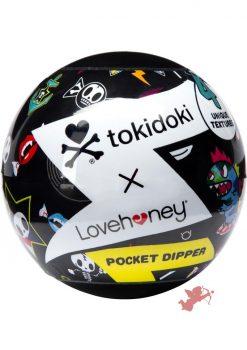 Tokidoki Pocket Dipper Pleasure Cup Flash Texture Clear