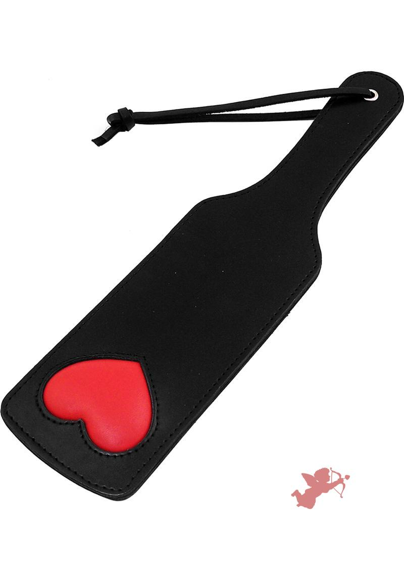 Rouge Paddle With Heart