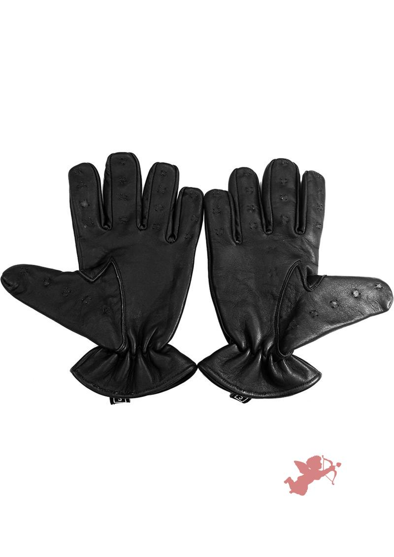 Rouge Vamipre Gloves Black Large