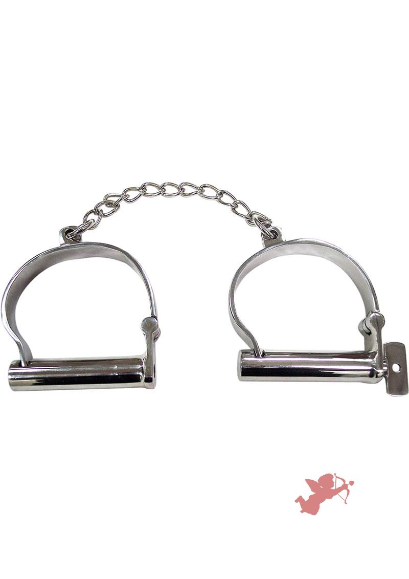 Rouge Ankle Shakles Stainless Steel