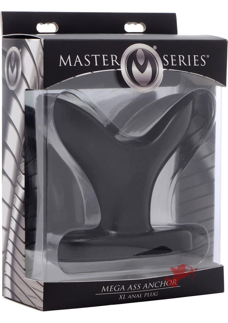 Master Series Mega Ass Anchor XL Anal Plug Black