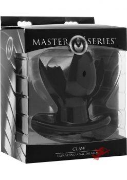 Master Series Claw Expanding Anal Dilator Black