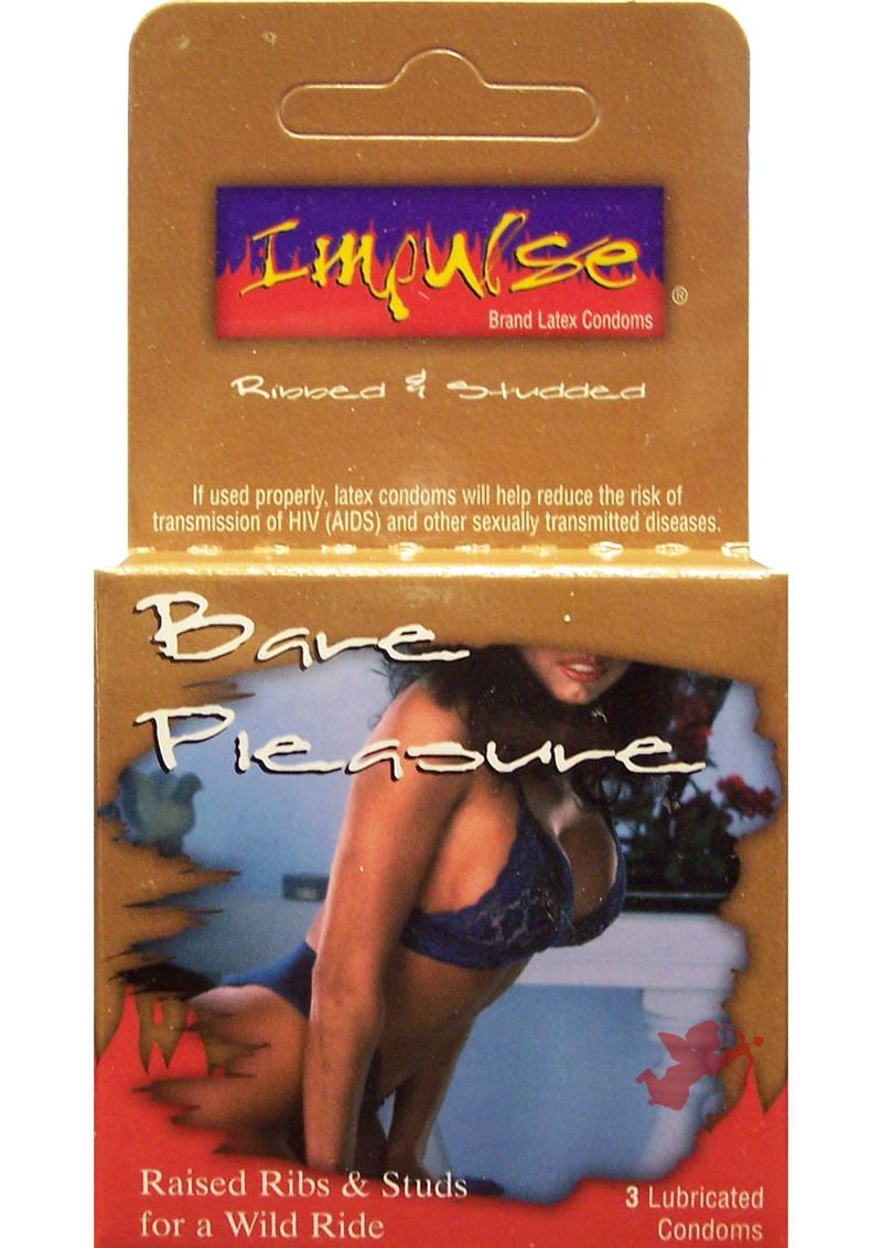 Impulse Bare Pleasure 3pk