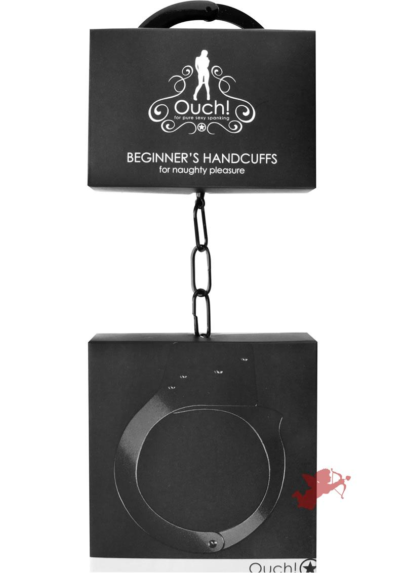 Ouch! Beginner's Handcuffs Black