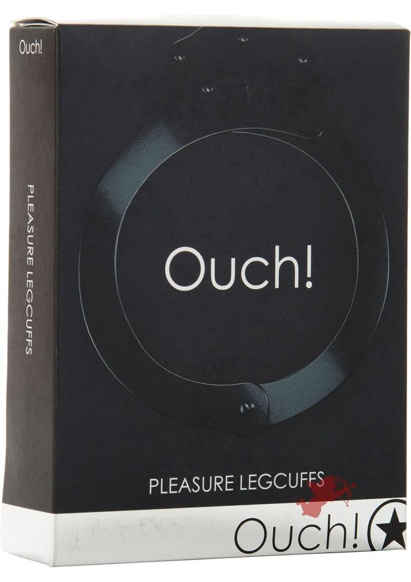 Ouch! Pleasure Legcuffs Black