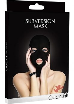 Ouch! Subversion Mask Black