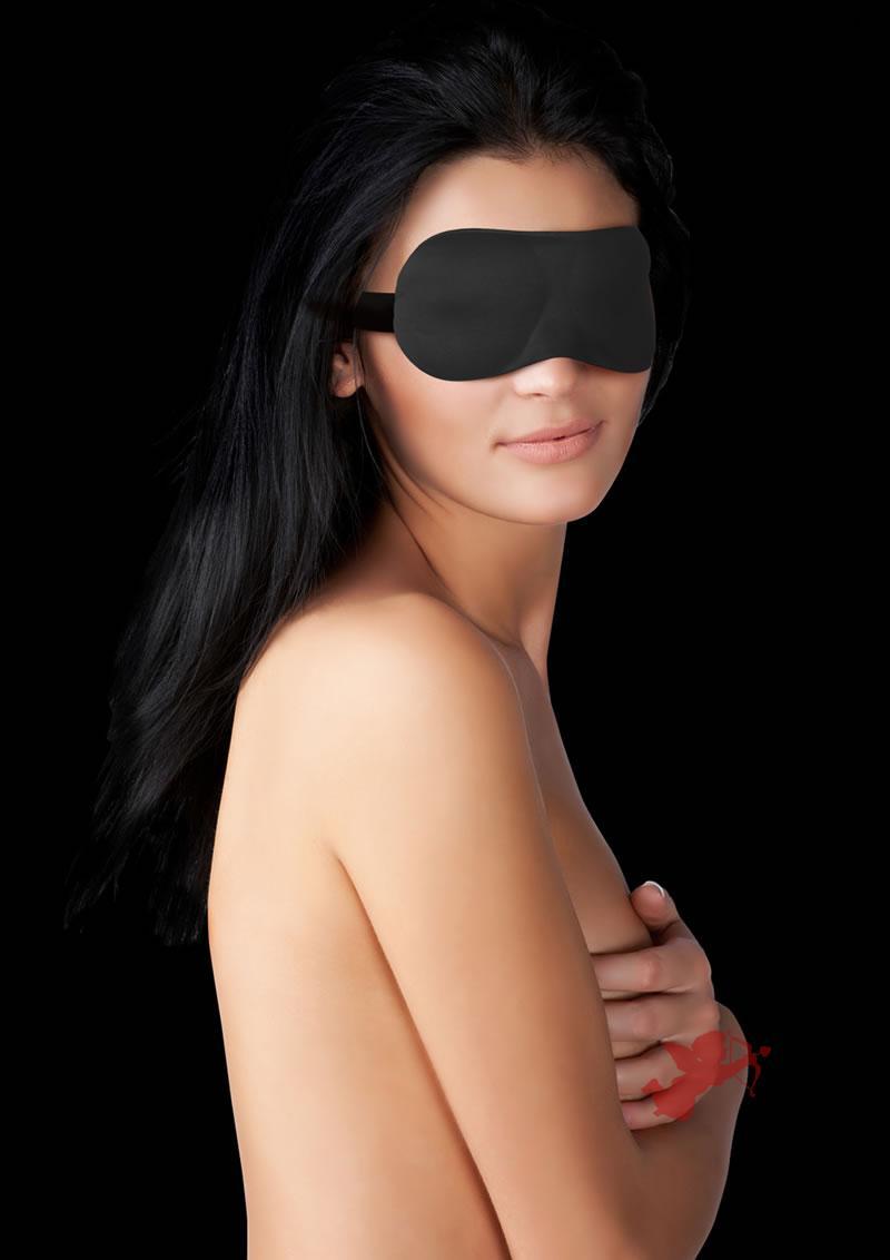 Ouch! Curvy Eyemask Black