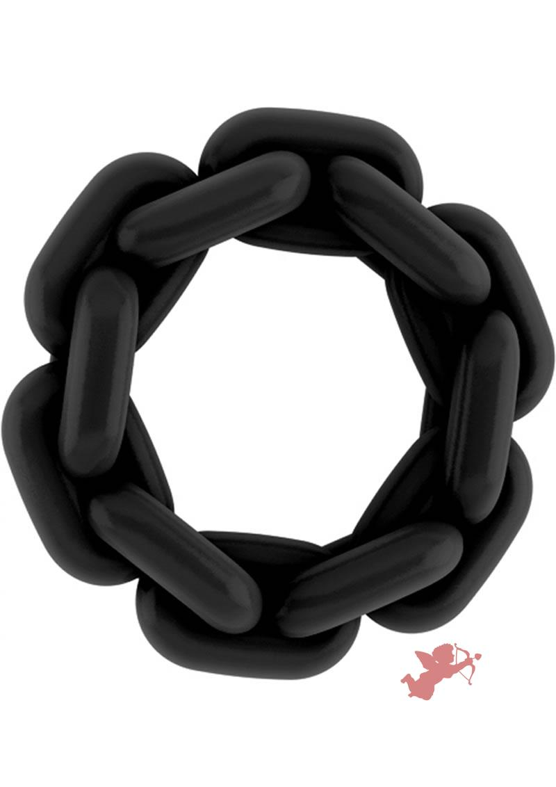 Sono No 4 Silicone Cockring Black