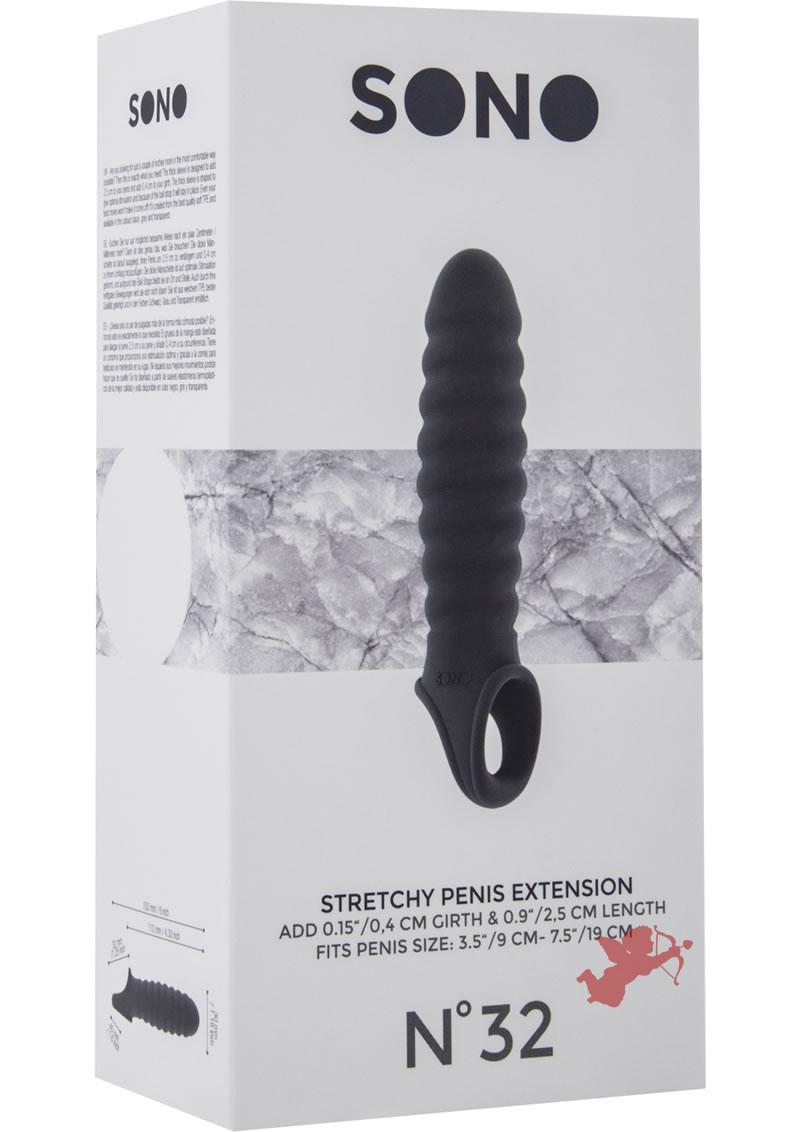 Sono No 32 Stretchy Penis Extension Grey