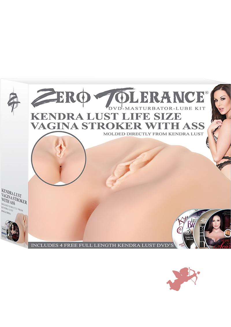 Kendra Lust Life Size Vagina Stroker With Ass Kit Flesh