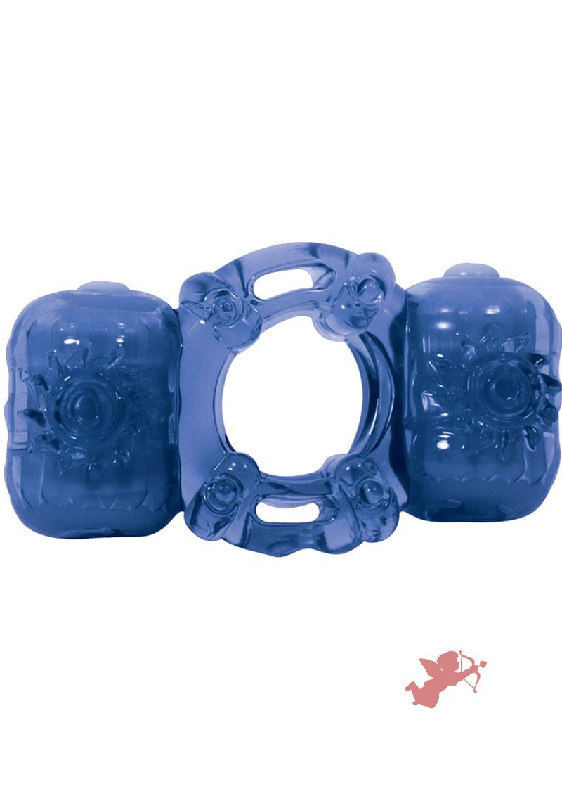 Partners Pleasure Ring - Blue