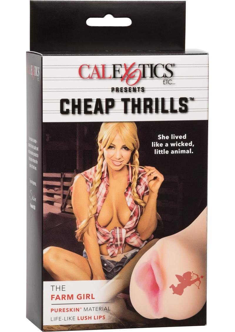 Cheap Thrills The Farm Girl Pussy Stroker Flesh