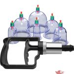 Master Series Sukshen 2.0 6 Piece Cupping Set Clear