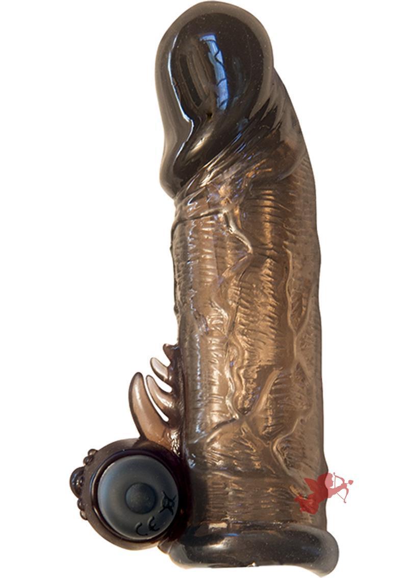 Maxx Gear Vibrating Penis Extender Black